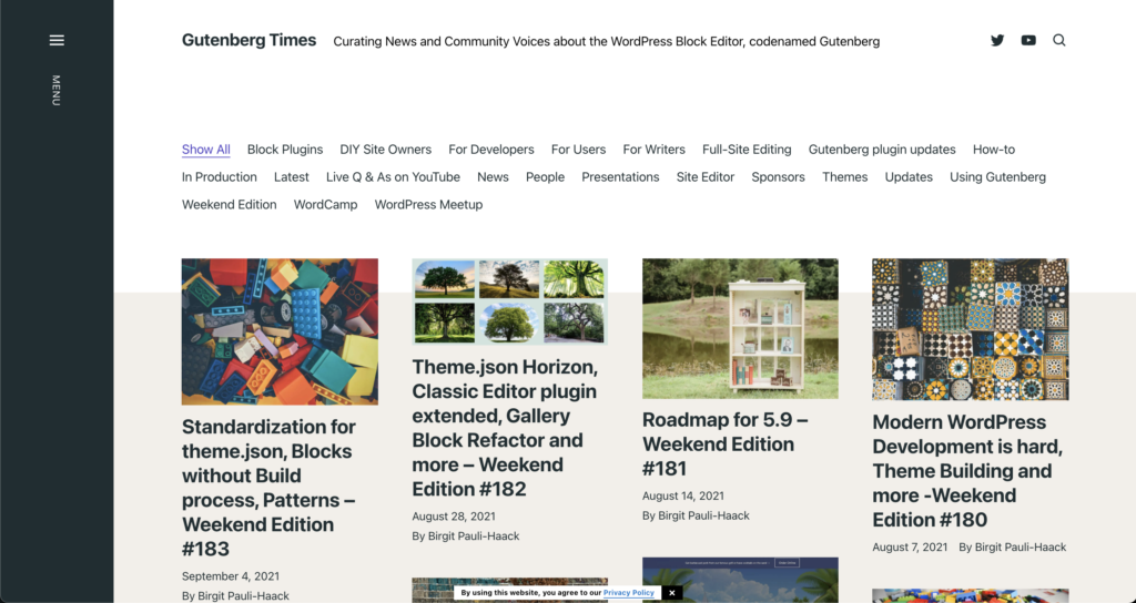 The Gutenberg Time's newsletter archive